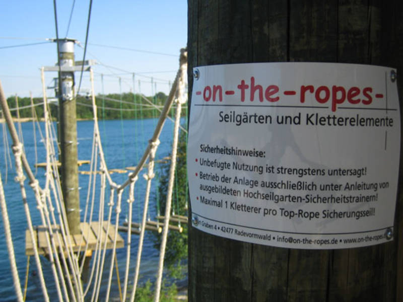 on-the-ropes - Seilgärten und Kletterelemente